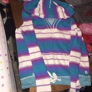 V neck hoodie